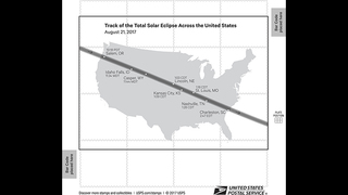 Solar Eclipse Stamps now on the market from USPS