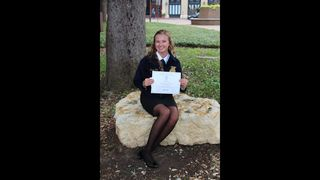 Victoria East FFA Chapter Student Receives Lone Star FFA Degree