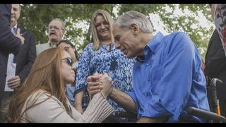 Governor Abbott attends memorial service for anniversary of Sutherland Springs shooting