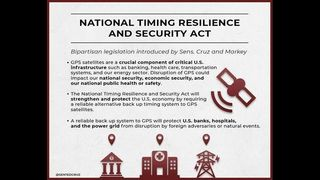 Sens. Cruz, Markey's Bipartisan National Timing Resilience and Security Act passes Senate