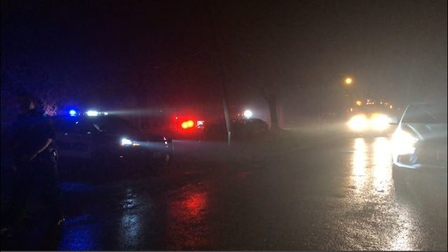 Update: Suspect arrested after wreck causes downed power line and outage