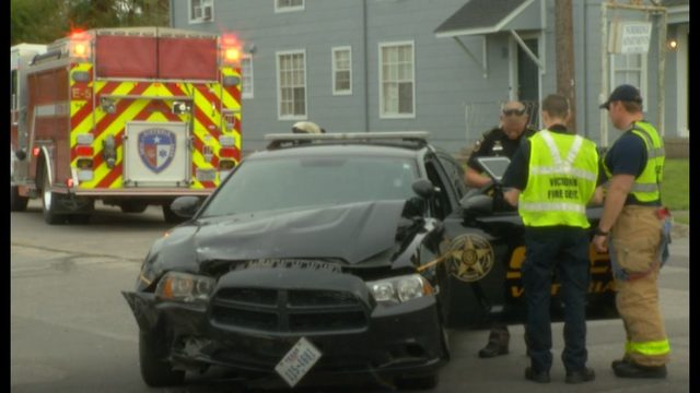 No injuries reported in crash involving Sheriff's Deputy