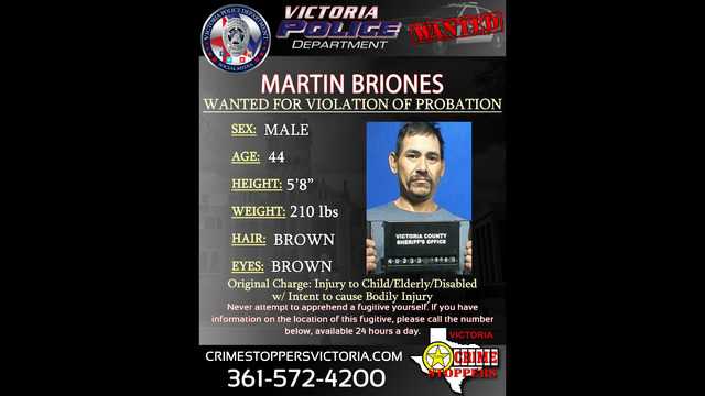 Victoria Crime Stoppers searching for man charged with domestic assault
