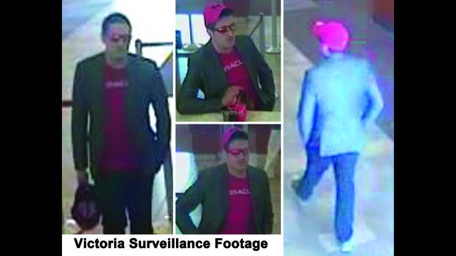 Crime Stoppers searching for man linked to robberies in Victoria and Houston