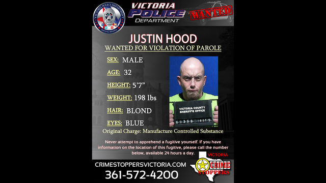 Victoria Crime Stoppers searching for man wanted for 'Manufacture of Controlled Substance'