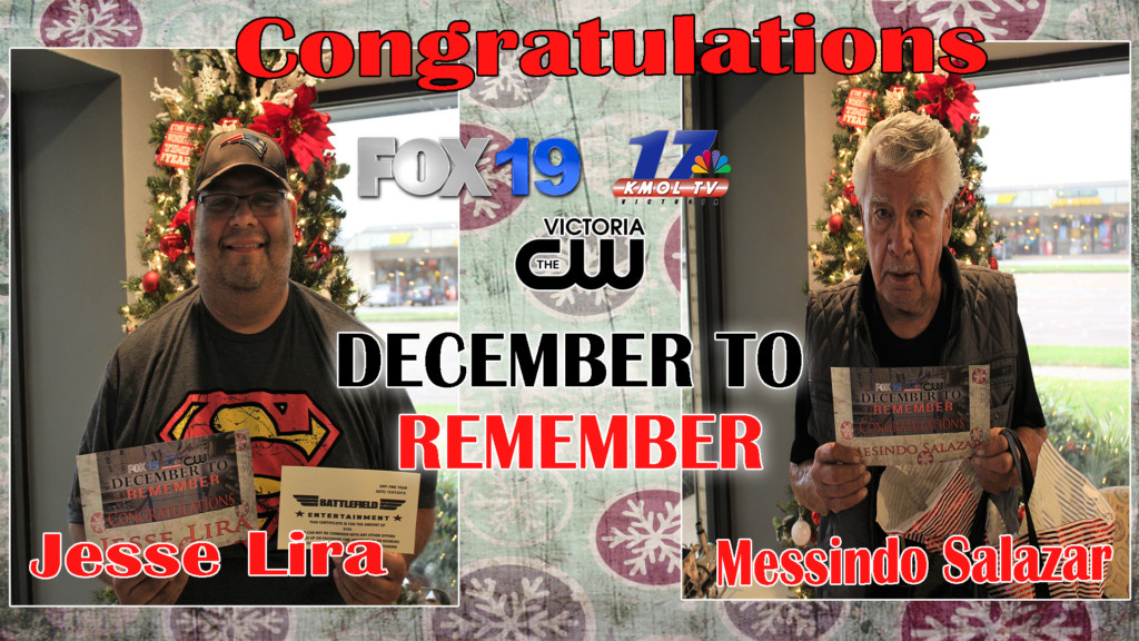 December to Remember Winners