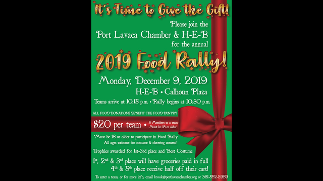 HEB and Port Lavca Chamber of Commerce host 2019 Food Rally