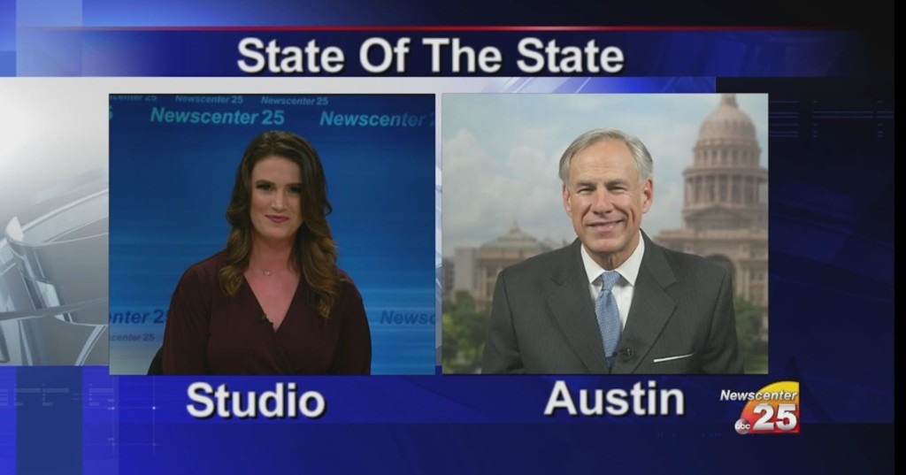 Governor Abbott highlights what his office is working on moving forward