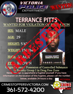 Arrested- Terrance Pitts