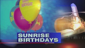 Sunrise Birthdays (2/12)