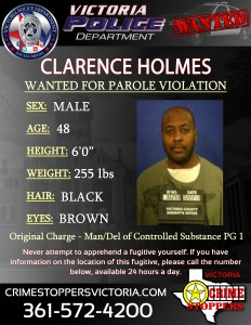Wanted - Clarence Holmes