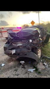 Emmy Saenz car crash