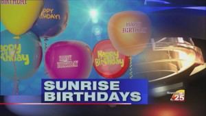 Sunrise Birthdays (5/19)