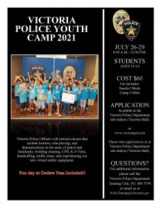 Youth Camp Flyer 2021 Photo